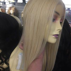 Accessories - Blonde 613 3 inch Freepart swisslace lacefront Wig